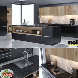 nolte kitchen P44 3d model Download  Buy 3dbrute