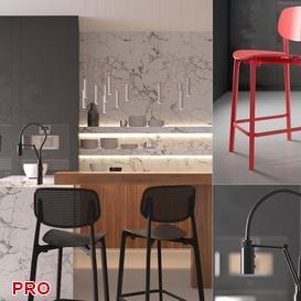 kitchen P46 3d model Download  Buy 3dbrute