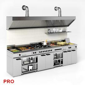kitchen P31 3d model Download  Buy 3dbrute