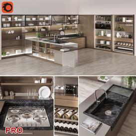 kitchen P33 3d model Download  Buy 3dbrute