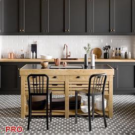 kitchen P34 3d model Download  Buy 3dbrute