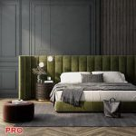 Modern bed 3dsmax 3d model