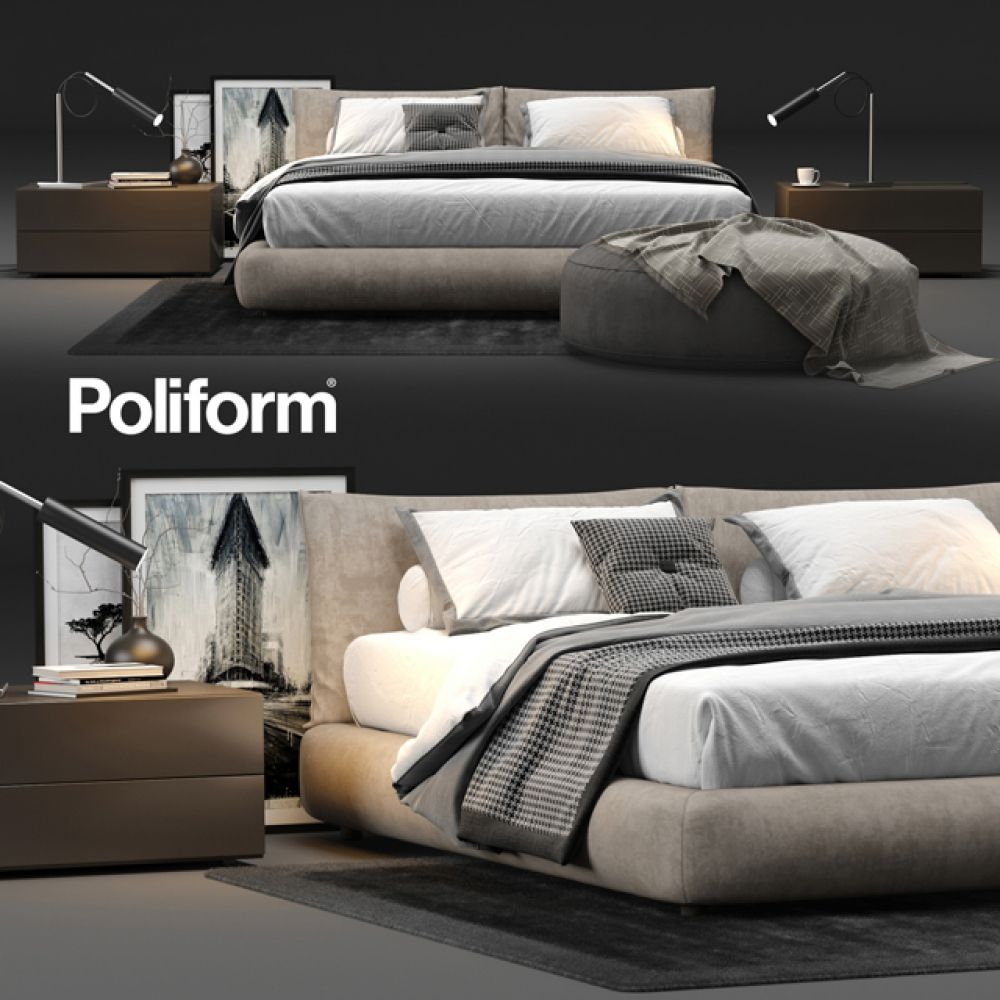Poliform Dream Bed 2