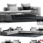 BB ITALIA MICHEL CLUB SOFA COMPOSITION  Sofa P47