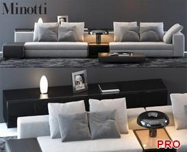 Sofa P49 3d model Download  Buy 3dbrute