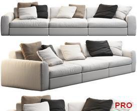 dune Sofa P67 3d model Download  Buy 3dbrute