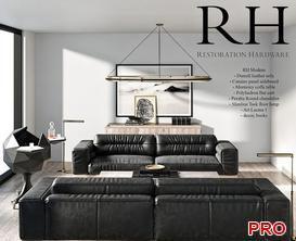 rh Sofa P70 3d model Download  Buy 3dbrute