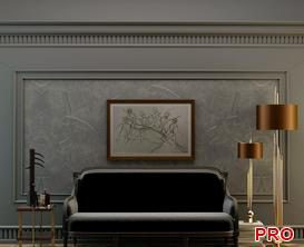 COUCH set Sofa P81 3d model Download  Buy 3dbrute