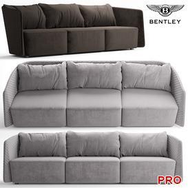 Bentley BUTTERF Sofa P82 3d model Download  Buy 3dbrute