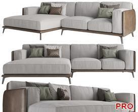 KRIS Sofa P97 3d model Download  Buy 3dbrute