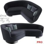 JACQUES  Curved  Sofa P102