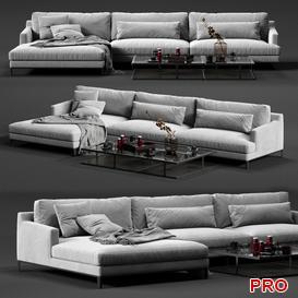 BELLPORT Corner  Sofa P120 3d model Download  Buy 3dbrute