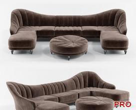 berkano  Sofa P132 3d model Download  Buy 3dbrute