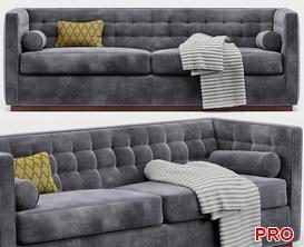 Rochester  Sofa P134 3d model Download  Buy 3dbrute