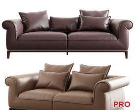 Natuzzi Poliziano 2897 Sofa P142 3d model Download  Buy 3dbrute