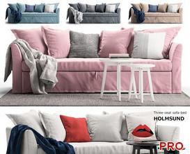 Holmsund  Sofa P157 3d model Download  Buy 3dbrute
