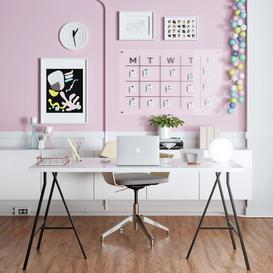 IKEA HOME OFFICE 3d model Download  Buy 3dbrute