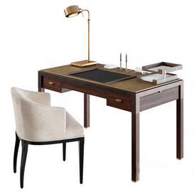 Amysomerville Theorem Desk  Amysomerville Mebsuta and Arteriors Elmer 3d model Download  Buy 3dbrute