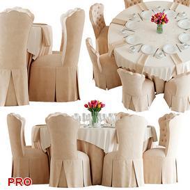 Table Alliso Tufted Vanity Chair 6 3d model Download  Buy 3dbrute