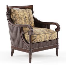 Tommy Bahama Stafford Chair LT 3d model Download  Buy 3dbrute