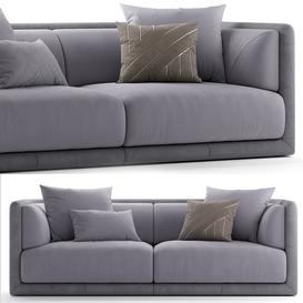 Sofa fendi casa conrad sofa 3d model Download  Buy 3dbrute