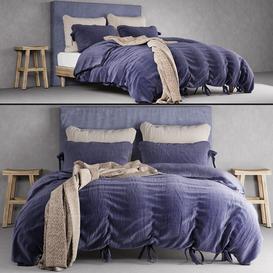 Bedroom set 17 LT 3d model Download  Buy 3dbrute