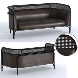 Targa Sofa LT 3d model Download  Buy 3dbrute