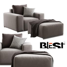 Blest   BL 101 K1   Pouf 3d model Download  Buy 3dbrute