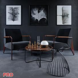 Vitra Chair Fauteuil de Salon 3d model Download  Buy 3dbrute