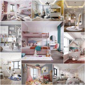 Sell Kid bedroom 2020 3d model