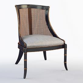 Antoine Cane Back Dining Chair 3d model Download  Buy 3dbrute