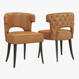 Brabbu Kansas Dining Chair 3d model Download  Buy 3dbrute