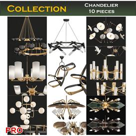 chandeliers collection 10 pieces 3d model Download  Buy 3dbrute