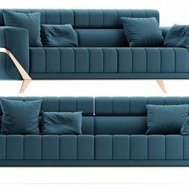 Collection  sofa 3d model Download  Buy 3dbrute