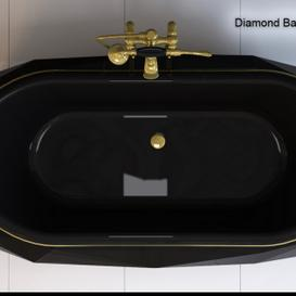 DIAMOND BATHTUB Maison Valentina 3d model Download  Buy 3dbrute