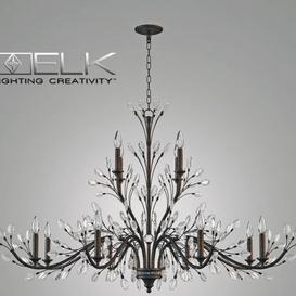 ELK Lighting CRYSTAL 3d model Download  Buy 3dbrute