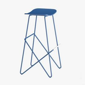 ENDLESS High Stool By Desalto 3d model Download  Buy 3dbrute