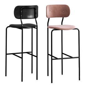 GUBI Coco Bar Chair 3d model Download  Buy 3dbrute