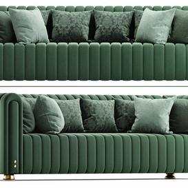Inglewood Sofa   Porus Studio 3d model Download  Buy 3dbrute