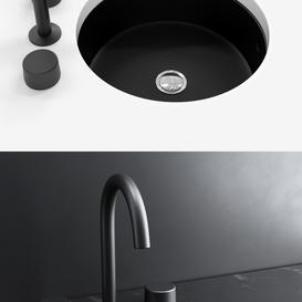 KOHLER Verticyl Blac round under mount bathroom sink 3d model Download  Buy 3dbrute
