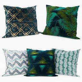 La Redoute   Decorative Pillows set 7 3d model Download  Buy 3dbrute