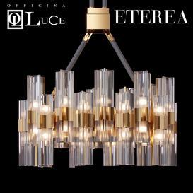 Officina Luce ETEREA Chandelier 3d model Download  Buy 3dbrute