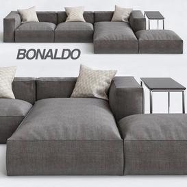 Peanut B Sofa 3d model Download  Buy 3dbrute