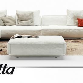 Pianoalto Sofa 3d model Download  Buy 3dbrute