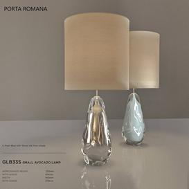 Porta Romana Small Avocado Lamp 3d model Download  Buy 3dbrute