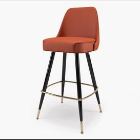 Richardon Seating s Bar Stool 3d model Download  Buy 3dbrute
