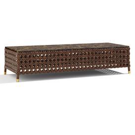 SAMUELE MAZZA Rigel rectangular table 3d model Download  Buy 3dbrute