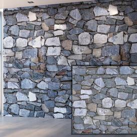 Stone wall 3d model Download  Buy 3dbrute