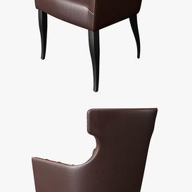 thesofa chaircompany GUINEA CARVER 3d model Download  Buy 3dbrute