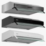 Bosch 60cm Built under cooker hood DUL63CC50B Serie 4 3d model Download  Buy 3dbrute